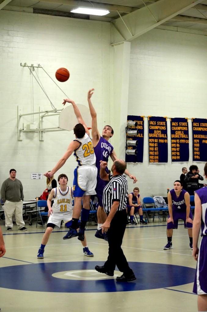 Basketball Tipoff