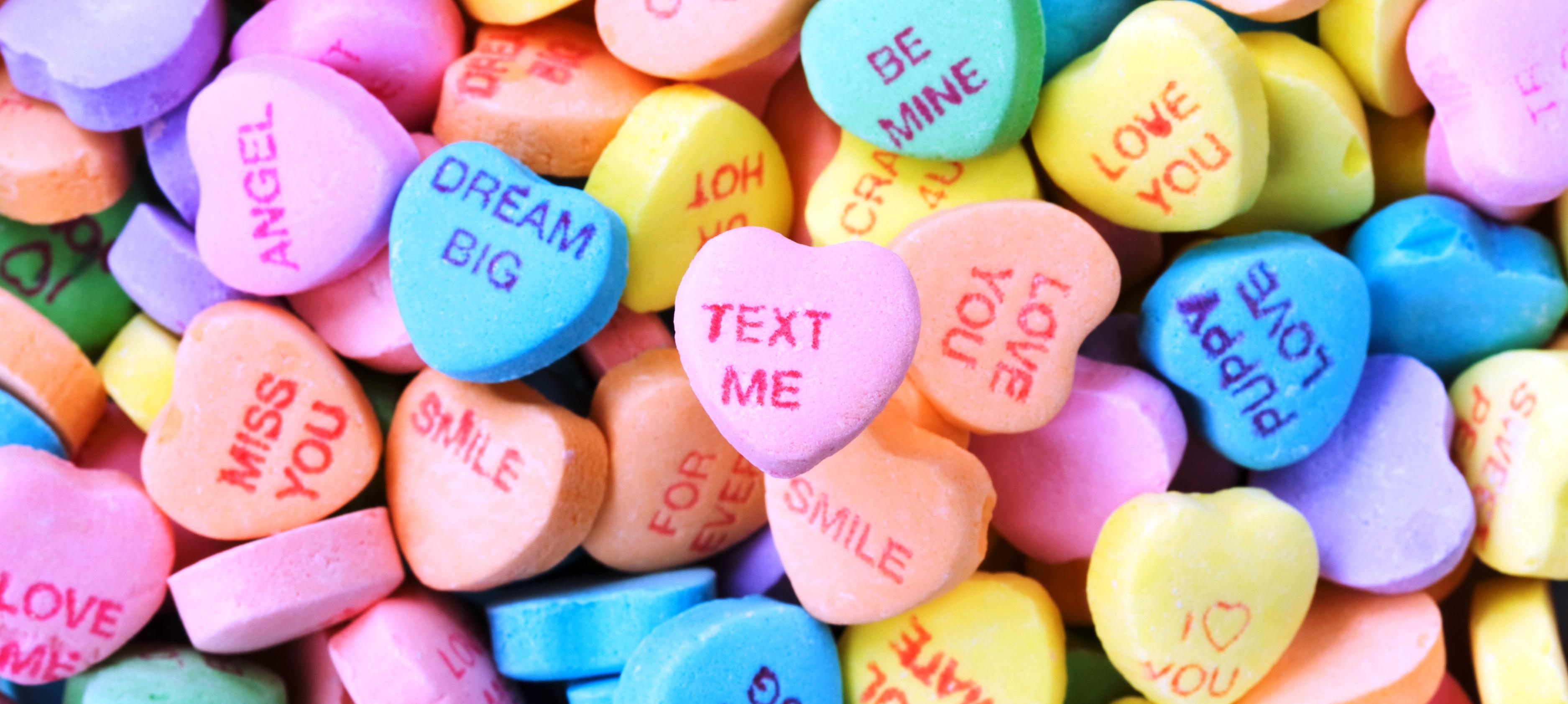 Valentine Messages! Conversation Heart