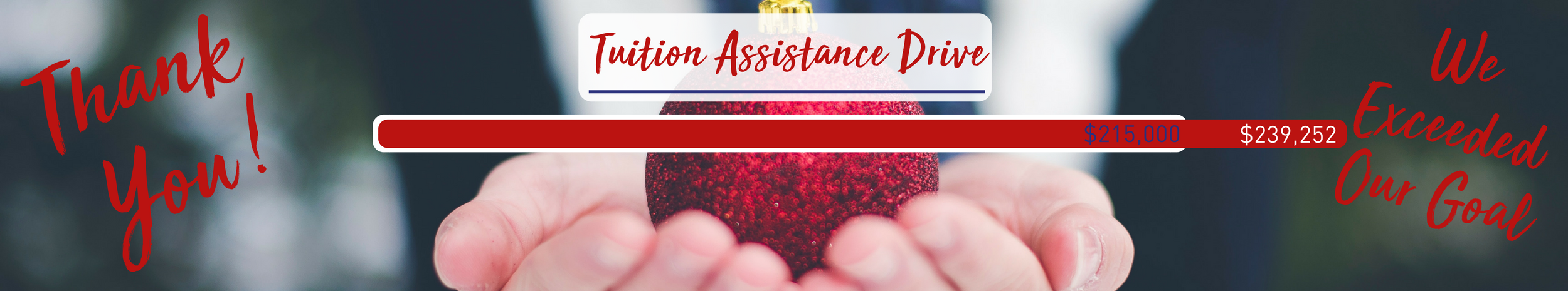 Tuition Assistance Drive