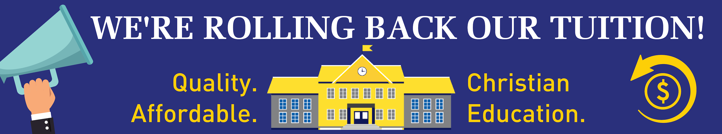 We're rolling back our tuition rates for 2019/20!