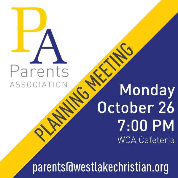 201026 PA Planning Meeting