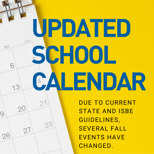 Updated School Calendar for the 2020/2021 Year