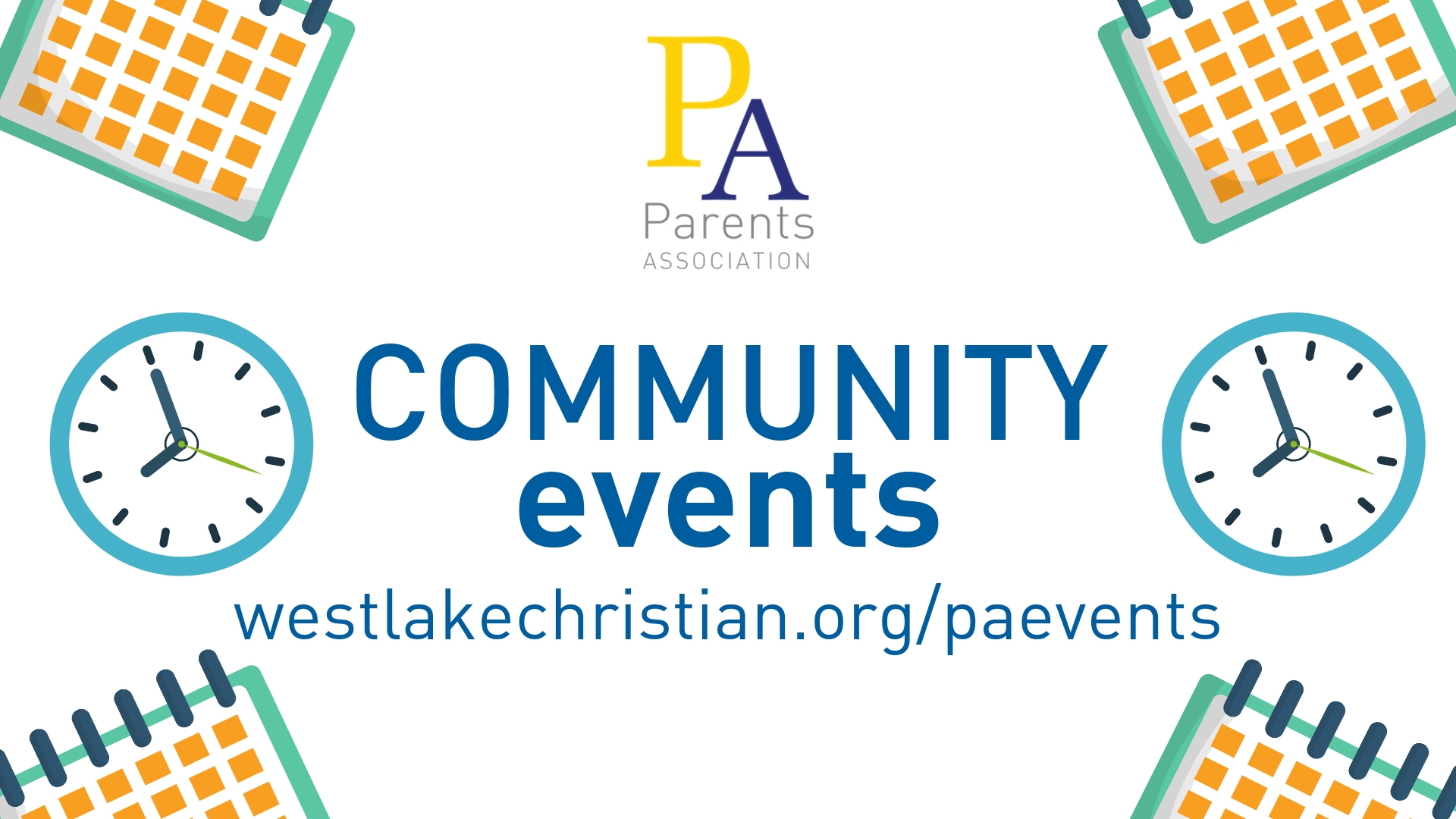 See our Community Events with our Parents Association