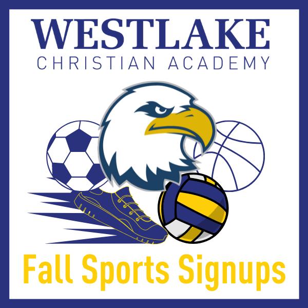 WCA Fall Sports Signups