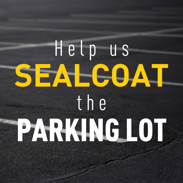 Sealcoat the Parking Lot