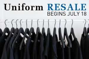 Uniform Resale Begins July 18, 2019  |  Click here for a summary of uniform guidelines